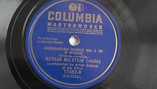 Nathan Milstein – 10-inch 78rpm – Columbia #P-17532-D