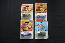 Lot 4 MATCHBOX 75 SUPERFAST N°65 N°70 N°30 canon auto porte autobus avion