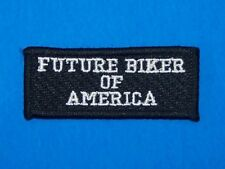 FUTURE BIKER OF AMERICA PATCH FOR CHILDER'S KIDS VEST JACKET NEW