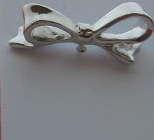 kate spade NY New York TIE TWO ON EARRINGS silver pierced post bow designer NWT