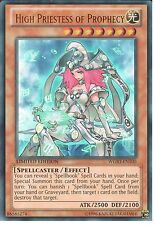 YU-GI-OH: HIGH PRIESTESS OF PROPHECY - ULTRA RARE - WGRT-EN100 - LIMITED EDITION