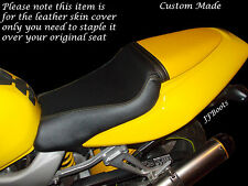 YELLOW & BLACK CUSTOM FITS HONDA VTR 1000 F FIRESTORM 97-05 DUAL BIKE SEAT COVER