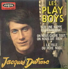 JACQUES DUTRONC EP FRANCE LES PLAY BOYS