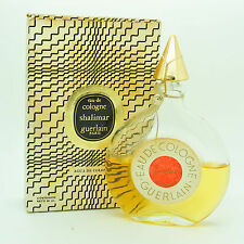 Vintage Guerlain Shalimar 90ml Eau de Cologne sealed 40 year old half full