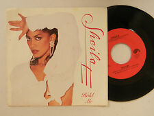 Sheila E 45 w/ps HOLD ME / THE WORLD IS HIGH VG++