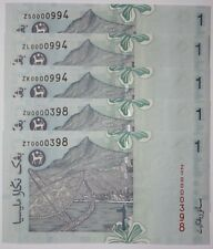 "(PL) RM 1 ZU 0000398 UNC 1 PIECE ONLY LOW NICE FANCY ""Z"" SERIES PAPER NOTE"