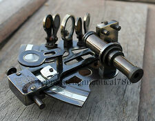 Vintage Antique Marine Sextant Maritime Nautical Navigation Ship Instrument Gift
