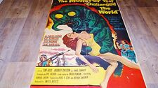 LE MONSTRE DE L'ABIME the monster that challenged the world  ! affiche u.s 1957