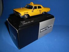 Corgi Vanguardia/Whitebox Ford Galaxie 500 Nueva York Taxi Escala 1/43 M/b