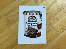 TOPPS MLB WACKY PACKAGES SEPIA STICKER COLORADO ROCKIES ROAD GAME ICE CREAM 48