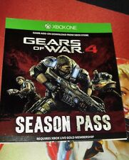 GEARS OF WAR 4 (SEASON PASS ONLY)- BRAND NEW, UNUSED DLC!!!