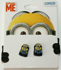 NEW Despicable Me Movie CARL ONE EYED MINION COSTUME POST STUD RUBBER EARRINGS