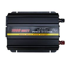 Pure Sine Wave 1000 Watt Power Inverter DC 12V to AC 240V