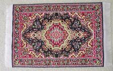 MINIATURE DOLLS HOUSE FURNITURE 12TH SCALE TURKISH FLOOR MAT RUG 16CM X 10CM