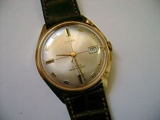 VINTAGE MEN  WIND UP TIMEX  21 JEWELS RUNNING