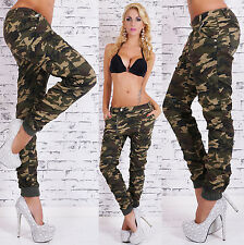 Hot Women's camouflage Pants Hipsters Jeans Boyfriend  Harem Baggy Trousers