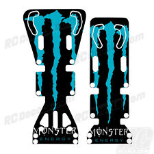 T-Maxx / E-Maxx INTEGY Skid Plate Protectors Monster- Cyan - Traxxas