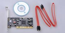 Hot Sell PCI Interface To 4 SATA I 1 PCI RAID Controller Card Internal + Cable
