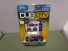 JADA 1/64 DUB CITY OLD SKOOL PURPLE 1956 FORD F-100 TRUCK HOT ROD NEW
