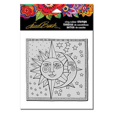 LAUREL BURCH RUBBER STAMPS CLING CELESTIAL NEW cling STAMP