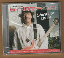 "SANTANA cd ""She's Not There Best Hits Of"" 2009 Disky Import NEW Sealed Carlos"
