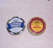 Rawleigh Antiseptic Salve   &  Medicated Ointment Set 5 oz. each