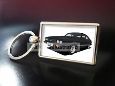 FORD CAPRI LASER METAL KEY RING. CHOOSE YOUR CAR COLOUR