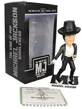 Michael Jackson (MJ) Bobblehead Odash King of Pop Figurine (2009) Bad Album  New