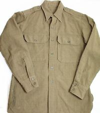 "Original US WWII Army & AAF Officer's Shirt W/ Epaulets Size 40"" Chest"