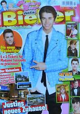 JUSTIN BIEBER - Picture Star Magazin 03/2012 + XXL Poster - Clippings Sammlung