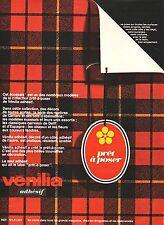 PUBLICITE ADVERTISING 034 1967 VENILIA adhésif prêt à poser