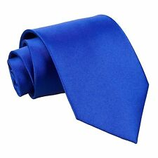 Boys Tie / Wedding Ties / Matching Satin Tie in any colour Child size
