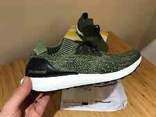 Adidas Ultraboost Uncaged Olive Green UK10 US10.5 EU 44 2/3 BB3901 Ultra Boost