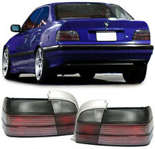 BLACK SMOKE tail lights rear lights for BMW E36 3 series coupe cabrio 90-99