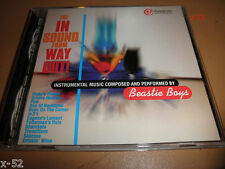 THE BEASTIE BOYS promo ADVANCE cd IN SOUND FROM WAY OUT instrumental