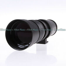 420-800mm F/8.3-16 Telephoto Zoom Lens +T Mount for Nikon D7100 D7200 D750 D5500