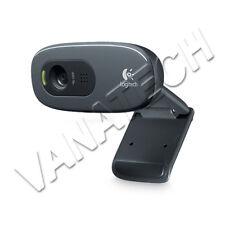 WEBCAM LOGITECH C270 HD 960-000635 PER PC CAMERA PER WINDOWS ALTA DEFINIZIONE