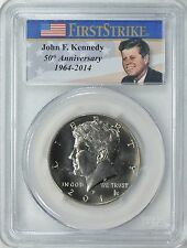 2014-D KENNEDY HALF DOLLAR 50c FIRST STRIKE (From the Unc Set) PCGS SP66