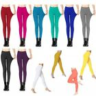Colorful Slim Jeggings Stretchy Sexy Pants Soft Pencil Skinny Leggings One Size