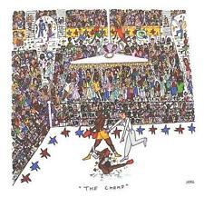 Farblithographie James Rizzi 1992 : 2D Rizzi 1992 The champ