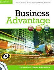 Cambridge BUSINESS ADVANTAGE Student's Book UPPER-INTERMEDIATE with DVD @New@