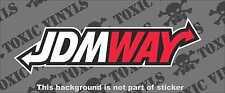 JDMWAY jap sticker decal JDM jap race drift car sticker decal