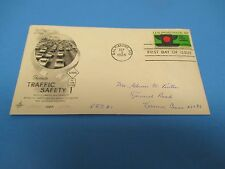 First Day Cover, Promote Traffic Safety, 1965, FDC