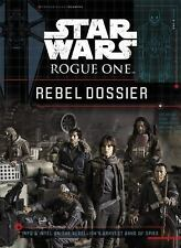 STAR WARS ROGUE ONE REBEL DOSSIER NEW HARDCOVER BOOK