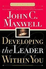 Developing the Leader Within You Maxwell, John C. Hardcover