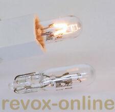 2 Lämpchen, Lampen, Lampensatz Studer Revox PR 99, VU-Meter Beleuchtung, 2* 24V