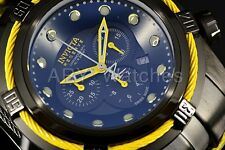 Invicta 53mm Reserve Bolt Zeus SwissMade Yellow/Black Chronograph Bracelet Watch