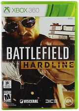 Battlefield: Hardline (Xbox 360, NTSC, Action Video Game) Brand New Sealed