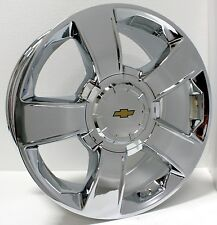 "New 20"" Chevy Chrome Wheels Rims Silverado Tahoe Suburban LTZ Avalanche"