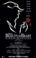 BEAUTY AND THE BEAST (BROADWAY) Movie POSTER 27x40 Terrence Mann Susan Egan